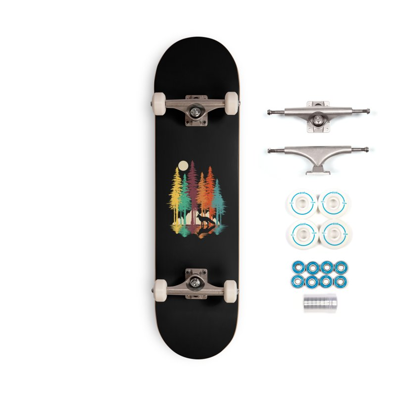Forest Fox Accessories Complete - Basic Skateboard by clingcling's Artist Shop