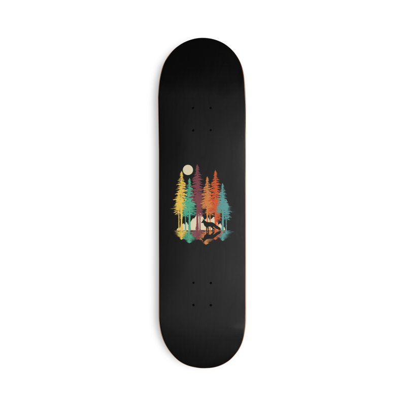 Forest Fox Accessories Deck Only Skateboard by clingcling's Artist Shop