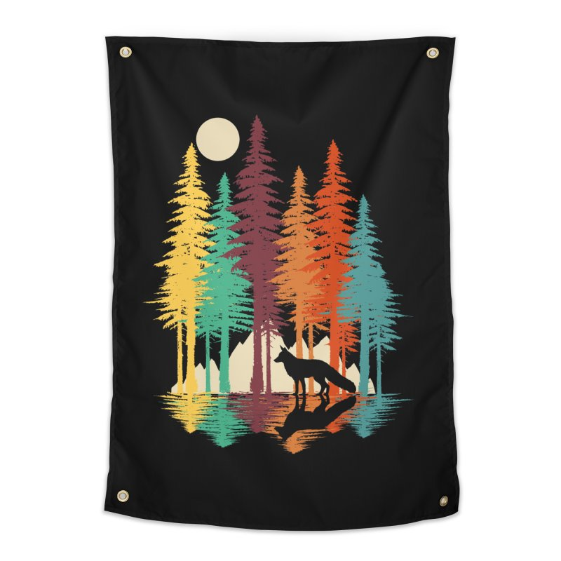Forest Fox Home Tapestry by clingcling's Artist Shop