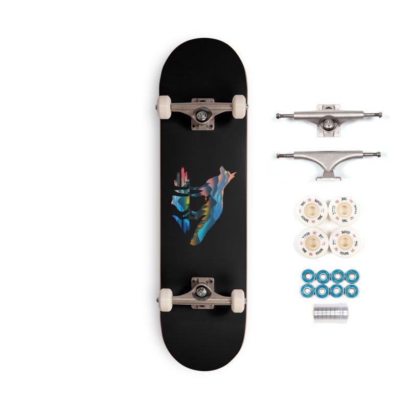 Mountain Fox Accessories Complete - Premium Skateboard by clingcling's Artist Shop