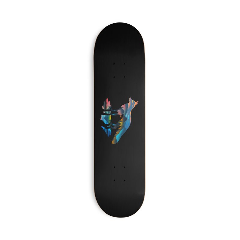Mountain Fox Accessories Deck Only Skateboard by clingcling's Artist Shop