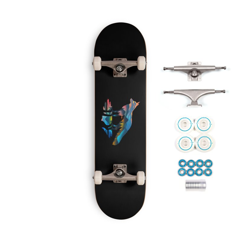 Mountain Fox Accessories Complete - Basic Skateboard by clingcling's Artist Shop
