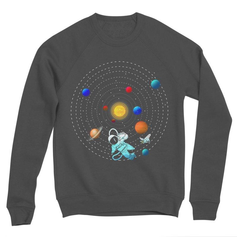 Space Travel Women's Sponge Fleece Sweatshirt by clingcling's Artist Shop