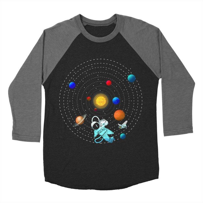 Space Travel Women's Baseball Triblend Longsleeve T-Shirt by clingcling's Artist Shop