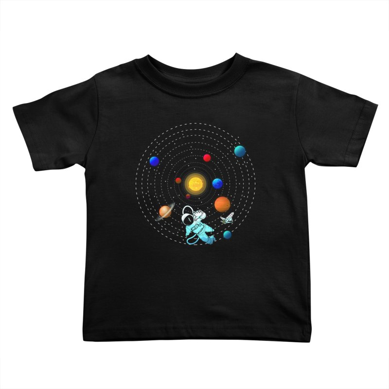 Space Travel Kids Toddler T-Shirt by clingcling's Artist Shop
