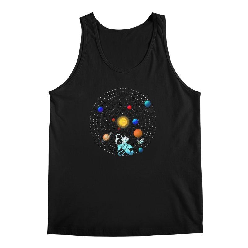 Space Travel Men's Regular Tank by clingcling's Artist Shop