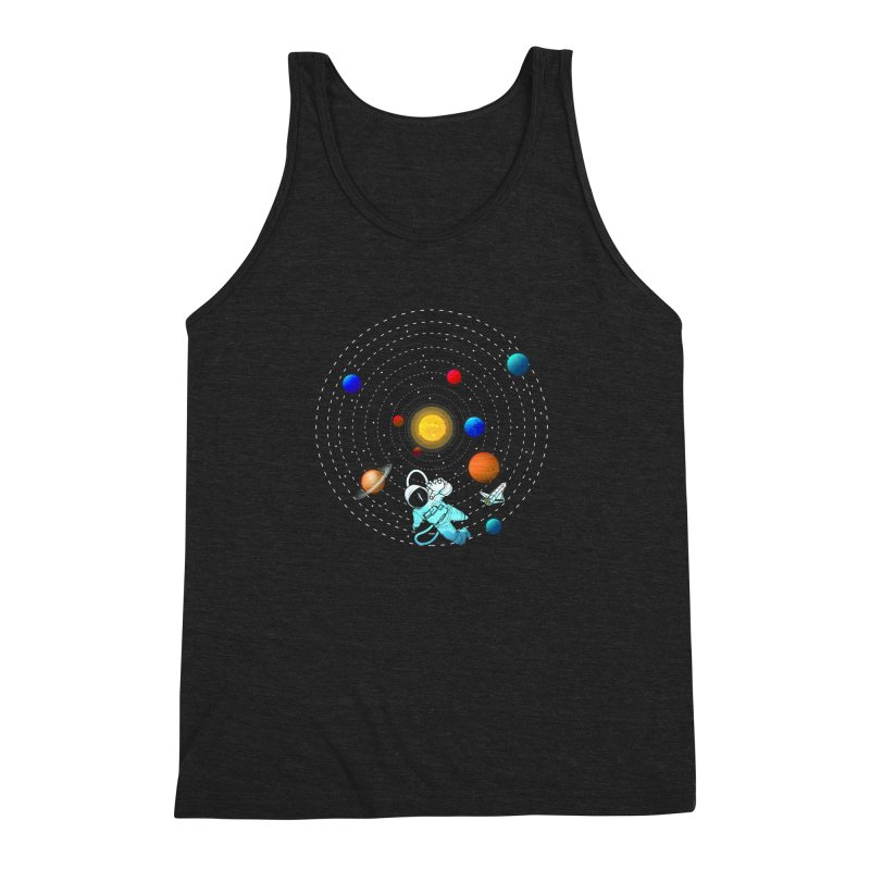 Space Travel Men's Triblend Tank by clingcling's Artist Shop
