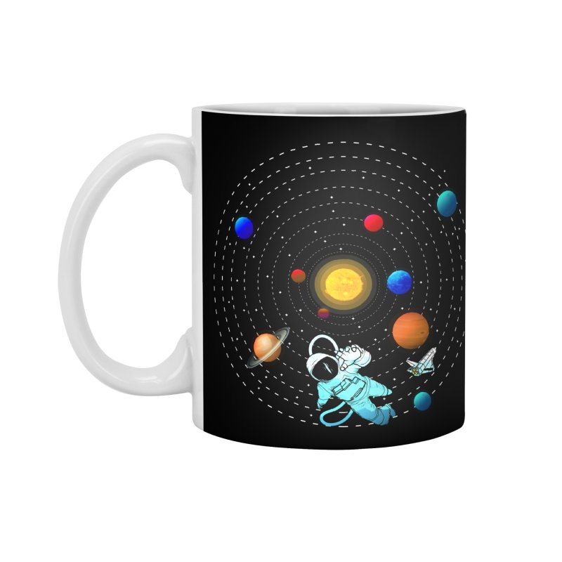 Space Travel Accessories Standard Mug by clingcling's Artist Shop
