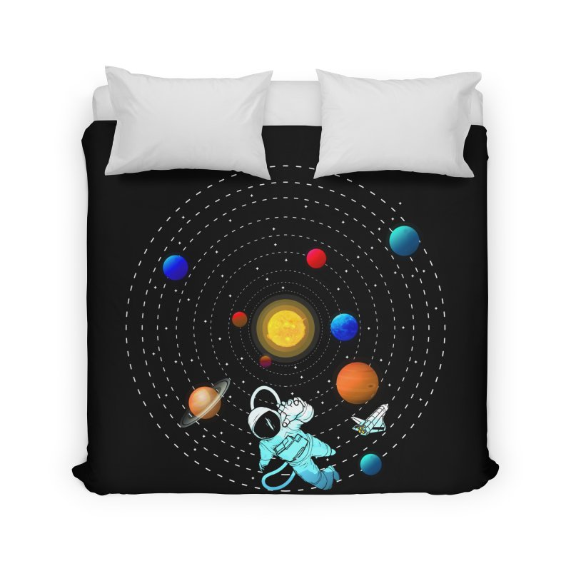 Space Travel Home Duvet by clingcling's Artist Shop