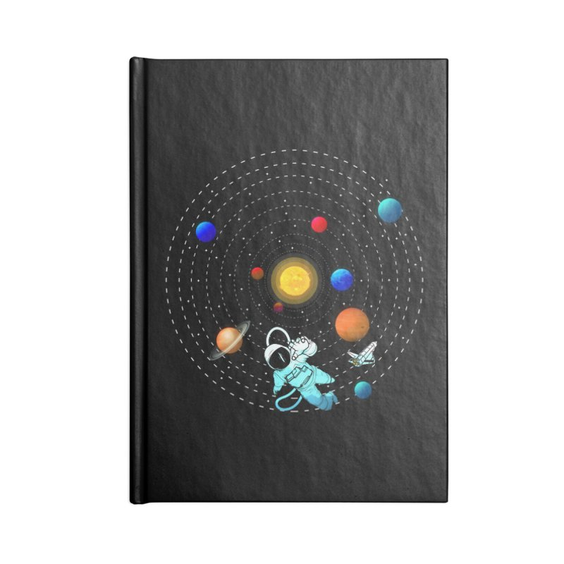Space Travel Accessories Notebook by clingcling's Artist Shop