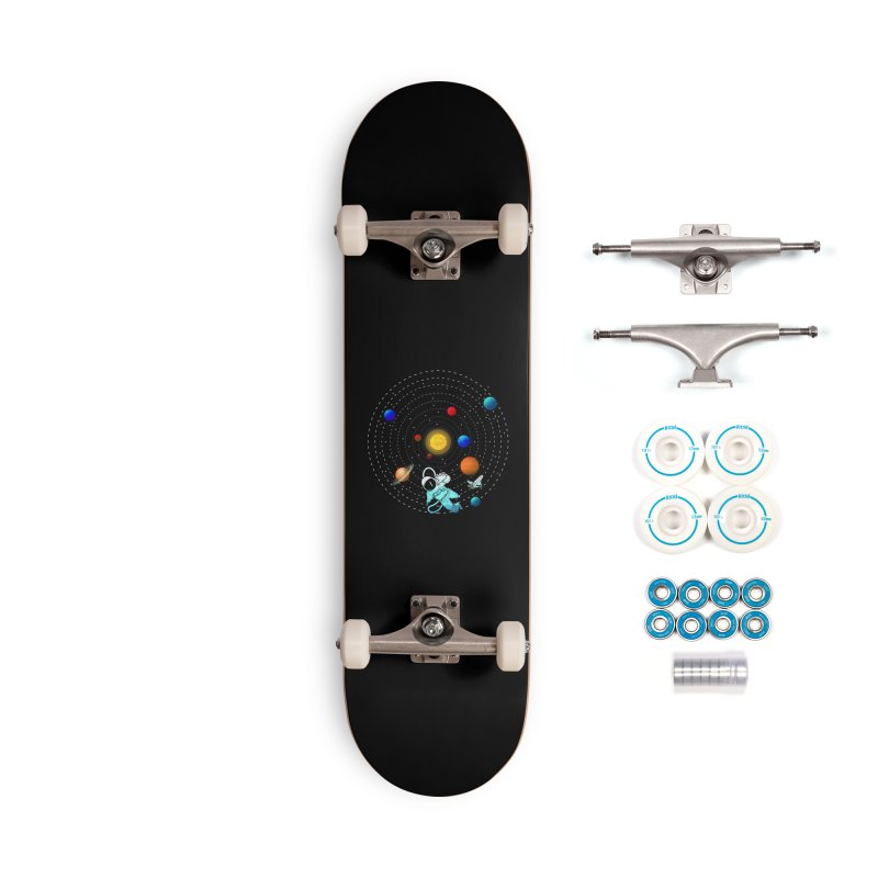 Space Travel Accessories Complete - Basic Skateboard by clingcling's Artist Shop