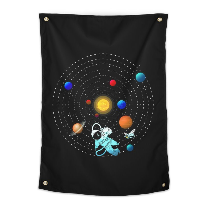 Space Travel Home Tapestry by clingcling's Artist Shop
