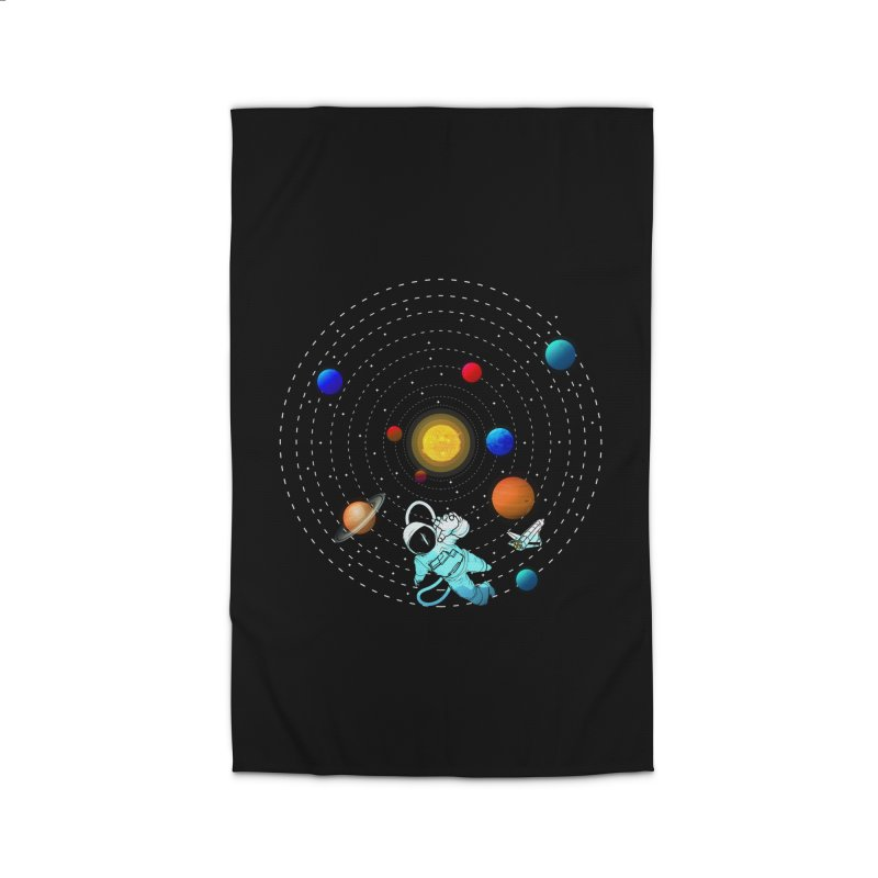 Space Travel Home Rug by clingcling's Artist Shop