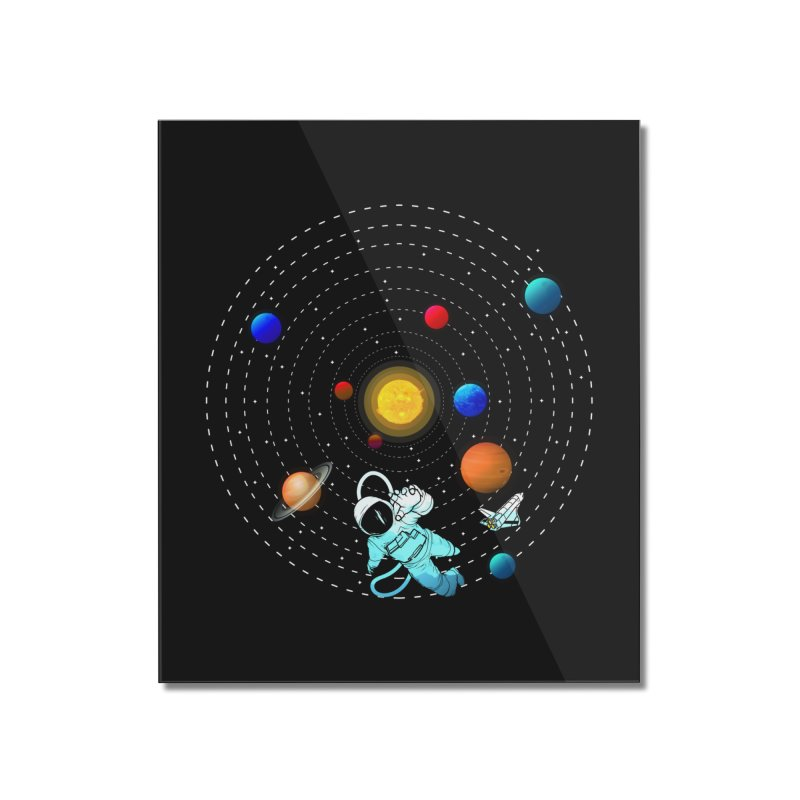 Space Travel Home Mounted Acrylic Print by clingcling's Artist Shop