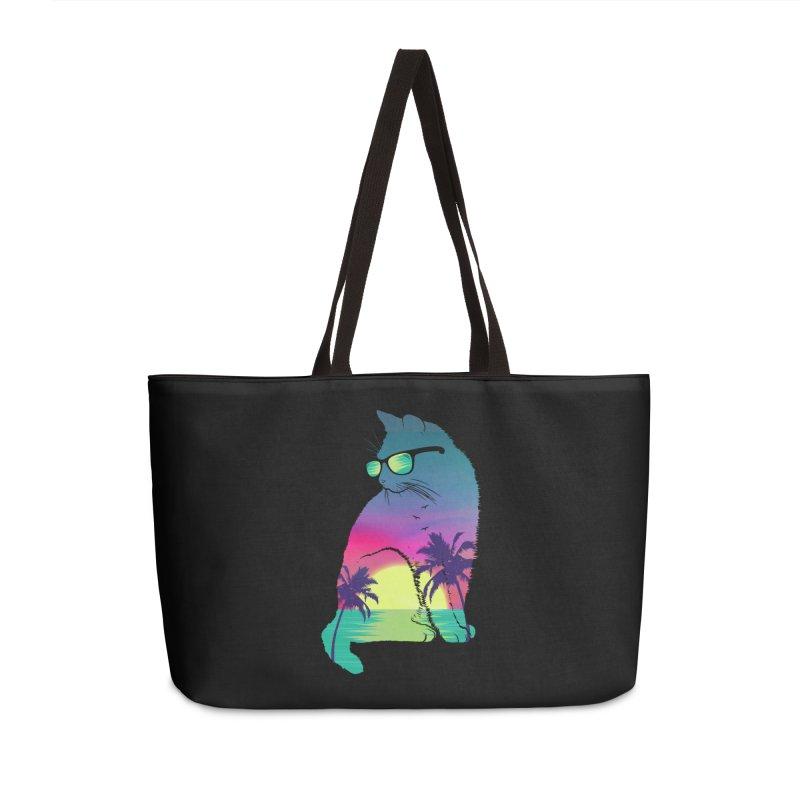 Summer Cat Accessories Weekender Bag Bag by clingcling's Artist Shop