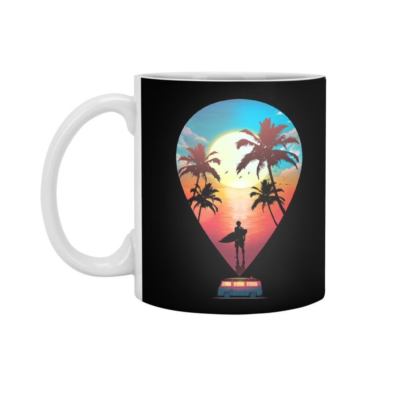 Summer Destination Accessories Standard Mug by clingcling's Artist Shop