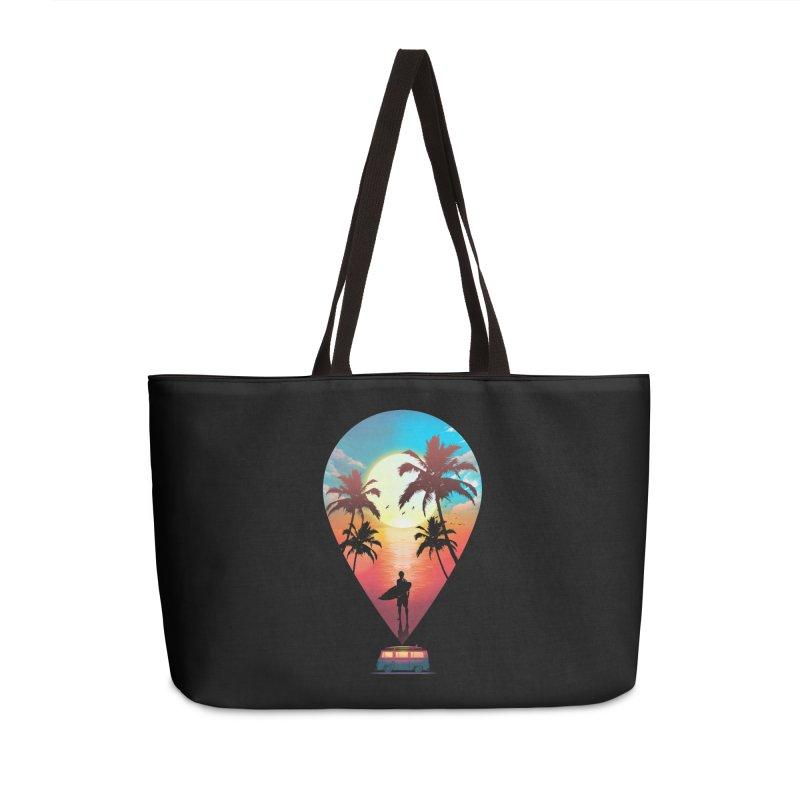 Summer Destination Accessories Weekender Bag Bag by clingcling's Artist Shop