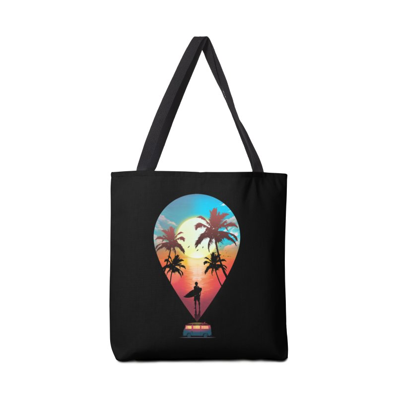 Summer Destination Accessories Tote Bag Bag by clingcling's Artist Shop