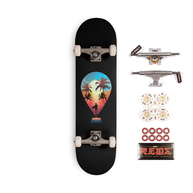 Summer Destination Accessories Complete - Pro Skateboard by clingcling's Artist Shop
