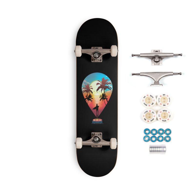 Summer Destination Accessories Complete - Premium Skateboard by clingcling's Artist Shop