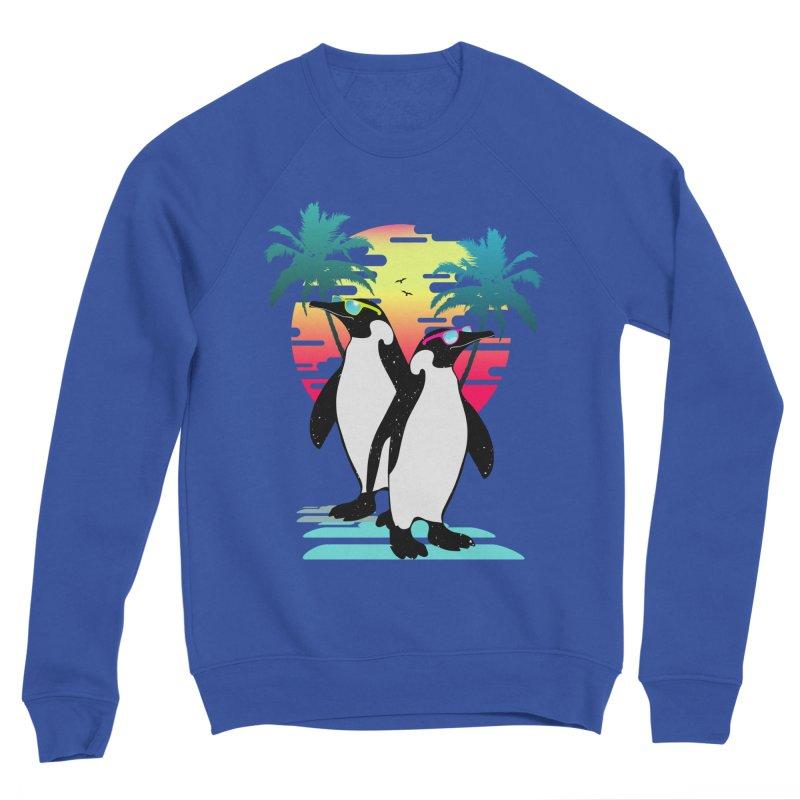 Summer Penguin Women's Sponge Fleece Sweatshirt by clingcling's Artist Shop