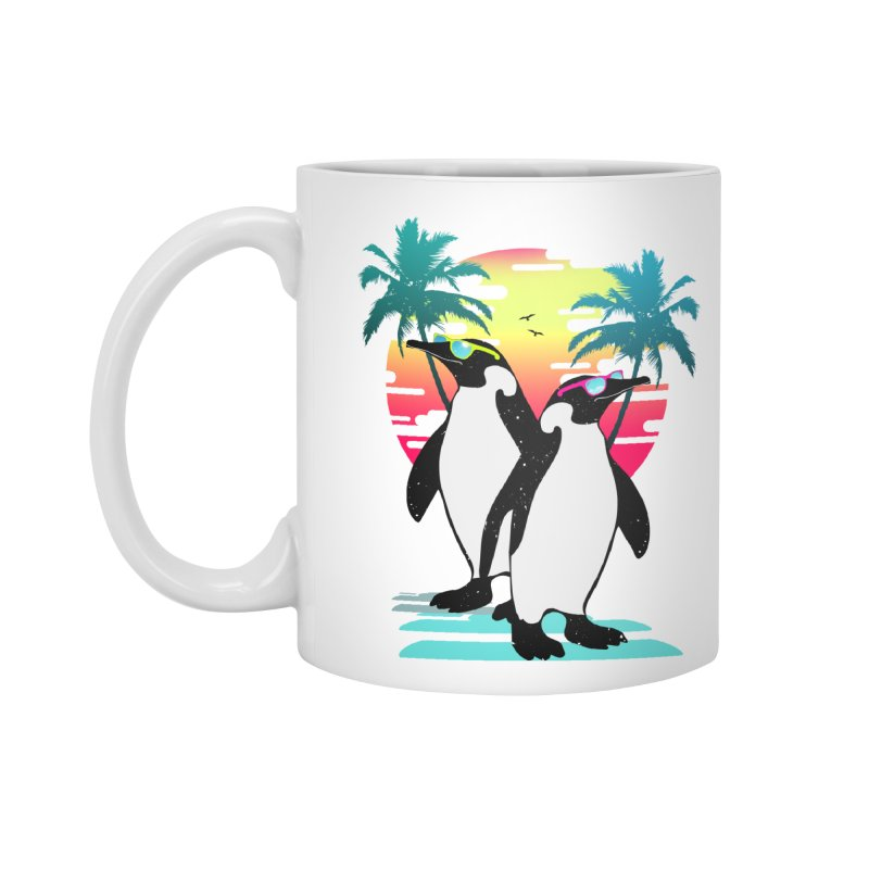 Summer Penguin Accessories Standard Mug by clingcling's Artist Shop