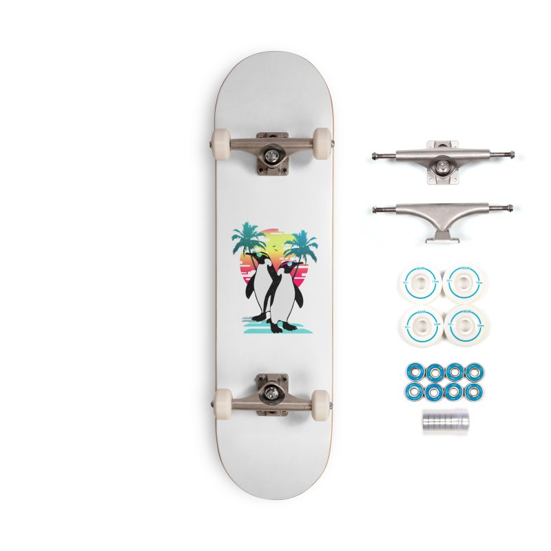 Summer Penguin Accessories Complete - Basic Skateboard by clingcling's Artist Shop