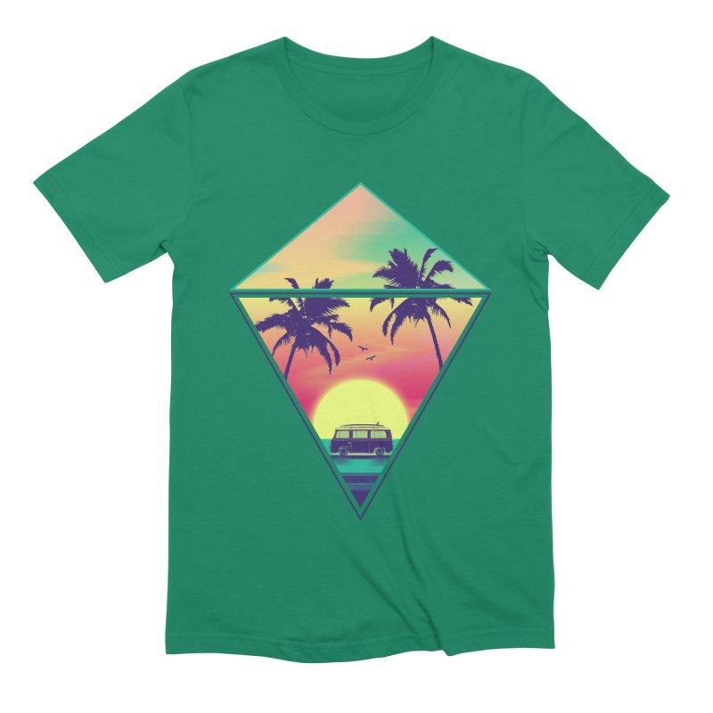 Summer Trip Men's Extra Soft T-Shirt by clingcling's Artist Shop