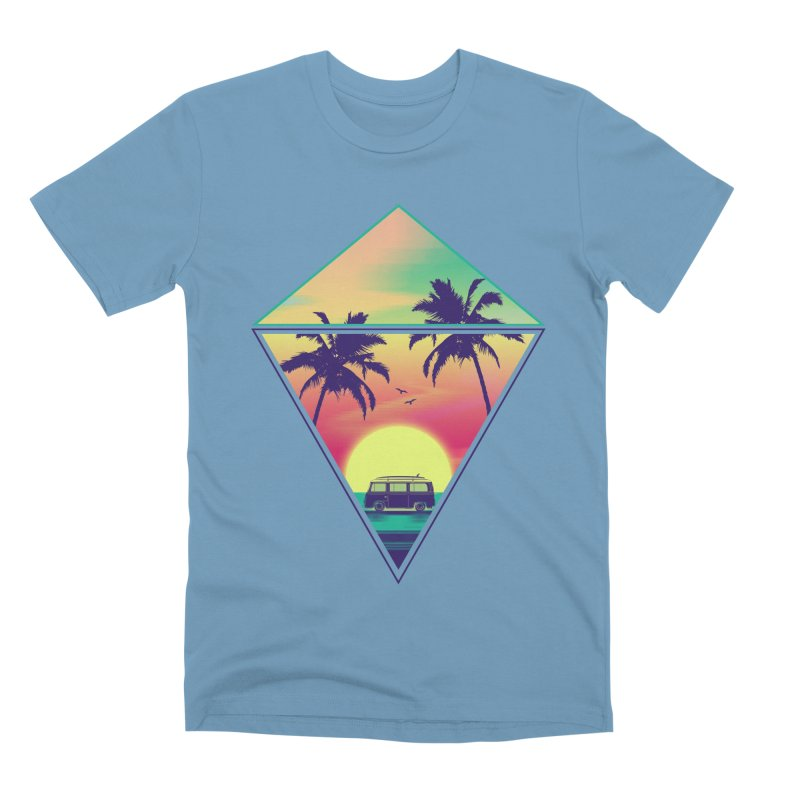 Summer Trip Men's Premium T-Shirt by clingcling's Artist Shop