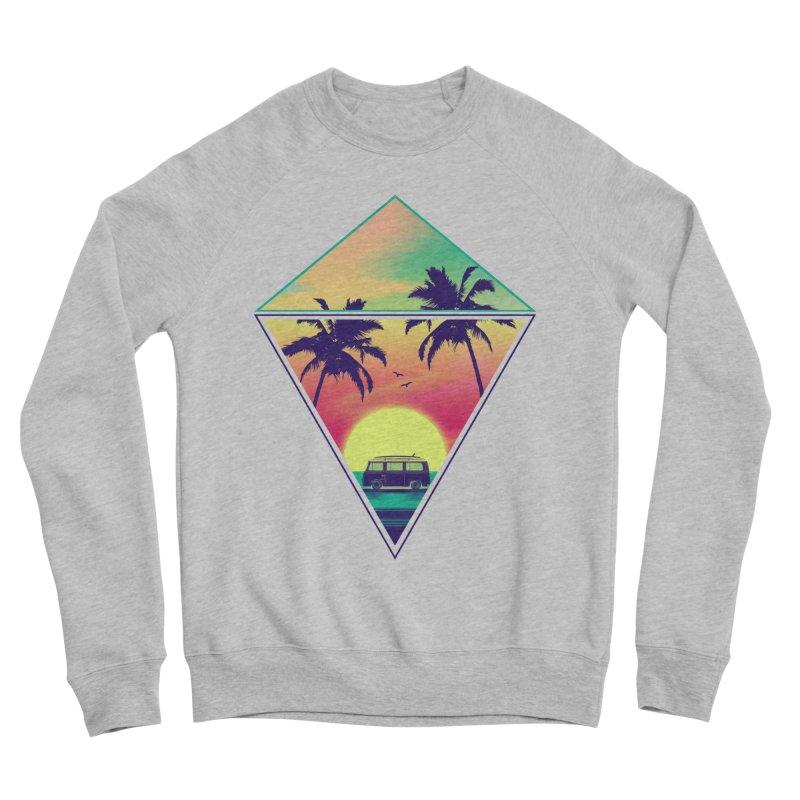 Summer Trip Women's Sponge Fleece Sweatshirt by clingcling's Artist Shop