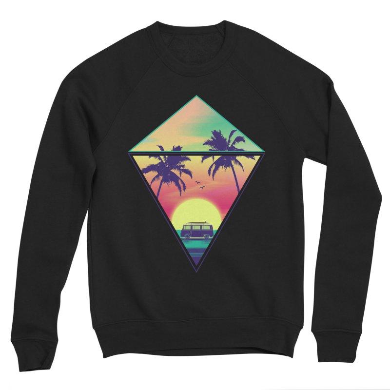 Summer Trip Men's Sponge Fleece Sweatshirt by clingcling's Artist Shop