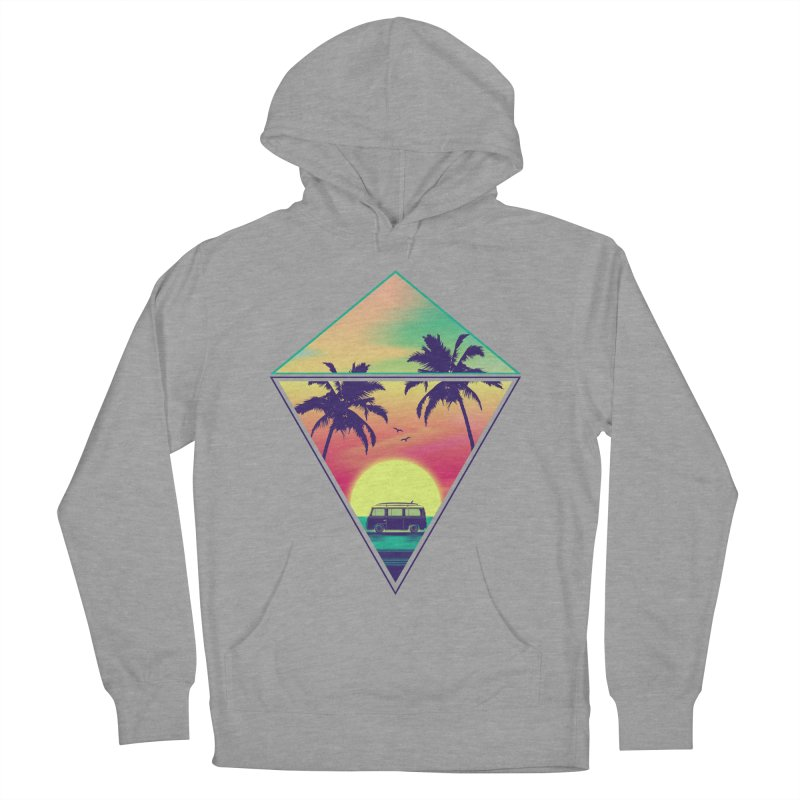 Summer Trip Women's French Terry Pullover Hoody by clingcling's Artist Shop