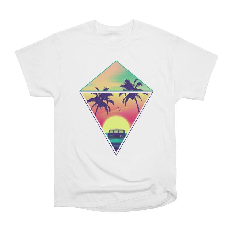Summer Trip Men's Heavyweight T-Shirt by clingcling's Artist Shop
