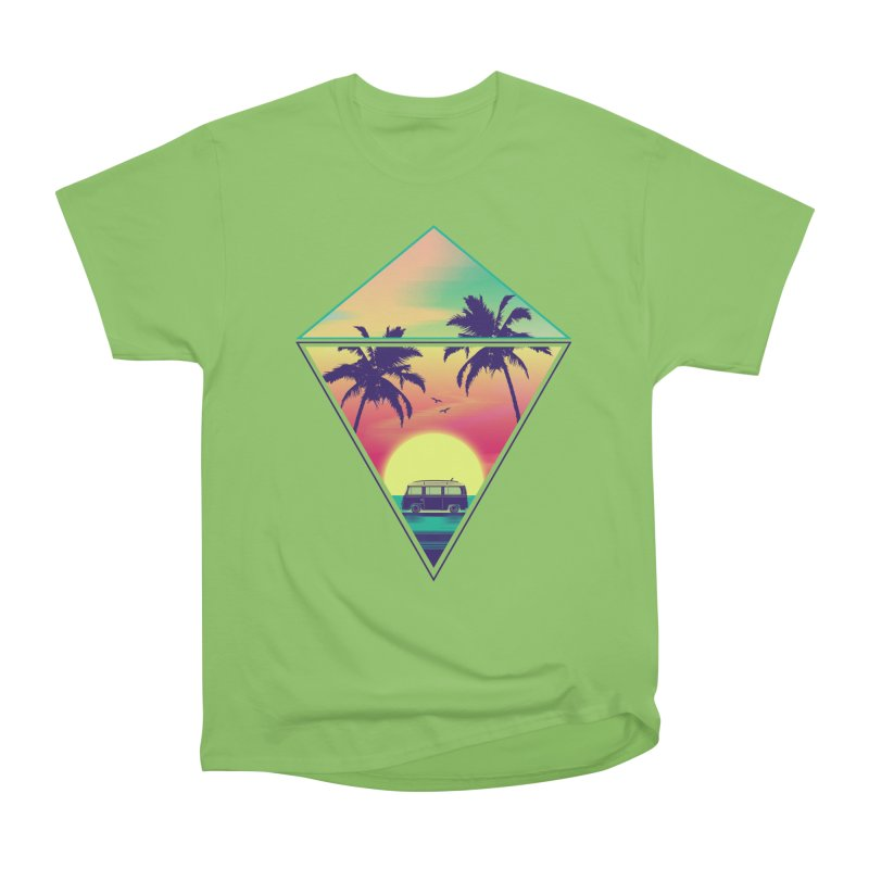 Summer Trip Women's Heavyweight Unisex T-Shirt by clingcling's Artist Shop