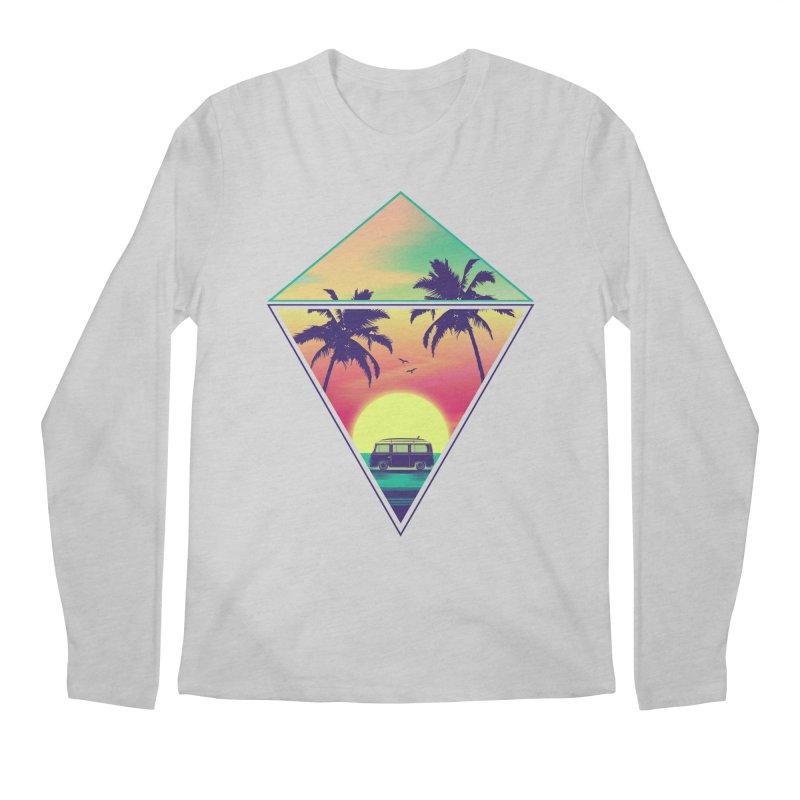 Summer Trip Men's Regular Longsleeve T-Shirt by clingcling's Artist Shop