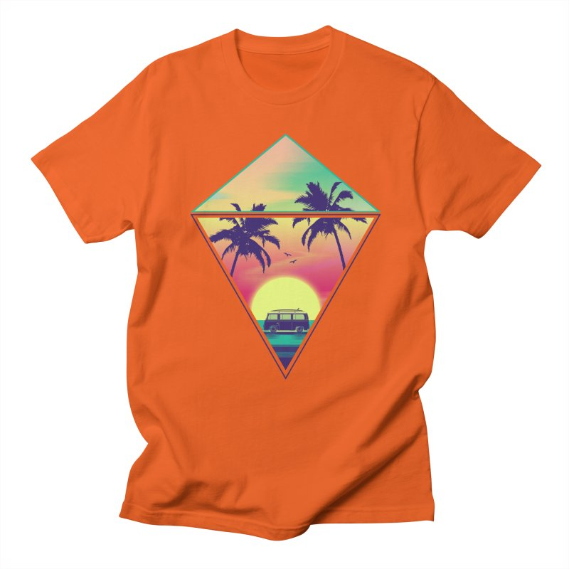 Summer Trip Women's Regular Unisex T-Shirt by clingcling's Artist Shop