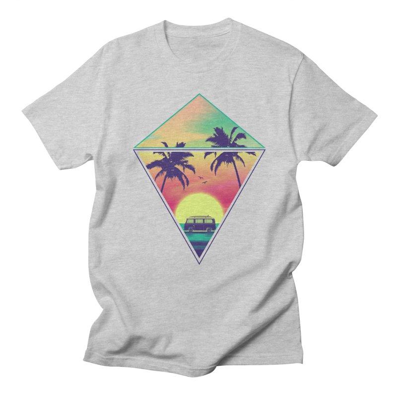Summer Trip Men's Regular T-Shirt by clingcling's Artist Shop