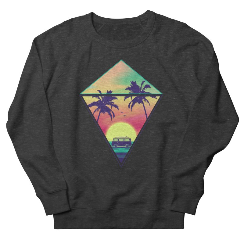 Summer Trip Women's French Terry Sweatshirt by clingcling's Artist Shop