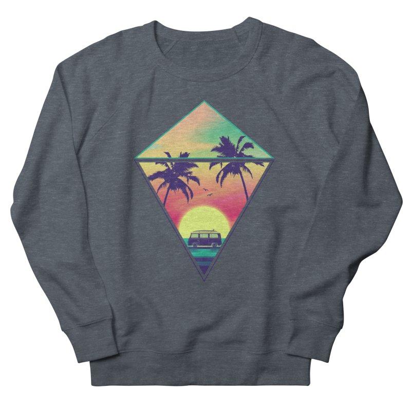 Summer Trip Women's French Terry Sweatshirt by clingcling's Artist Shop