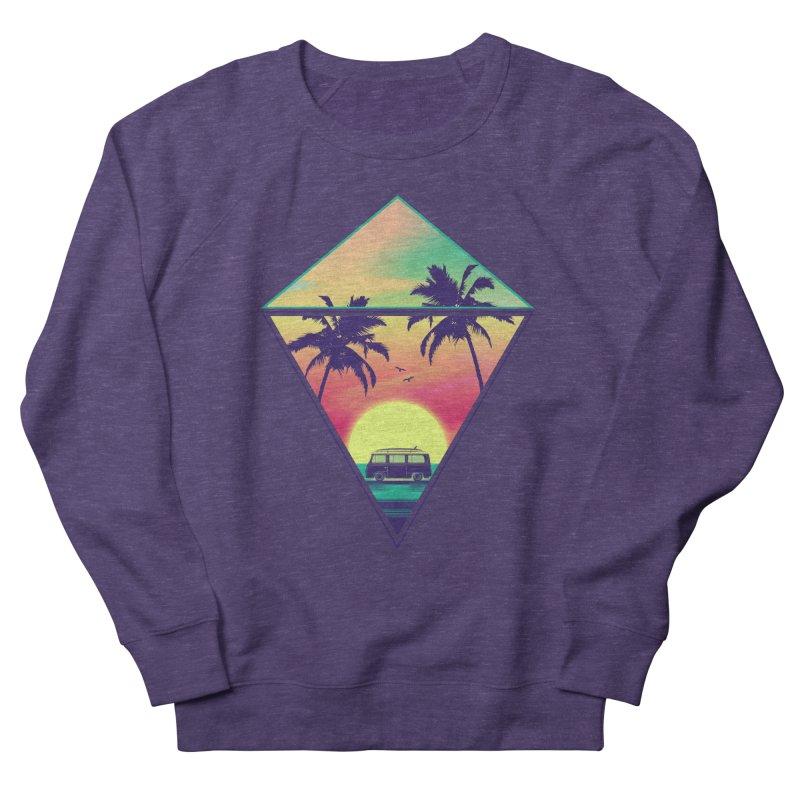Summer Trip Men's French Terry Sweatshirt by clingcling's Artist Shop