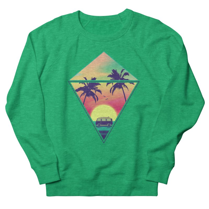 Summer Trip Men's French Terry Sweatshirt by clingcling's Artist Shop