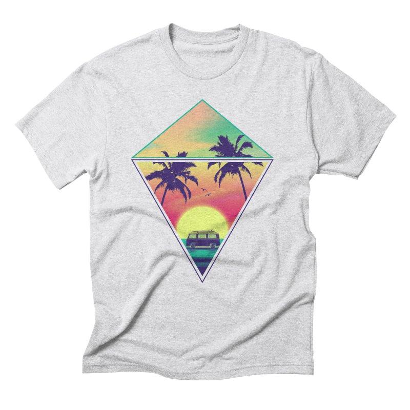 Summer Trip Men's Triblend T-Shirt by clingcling's Artist Shop