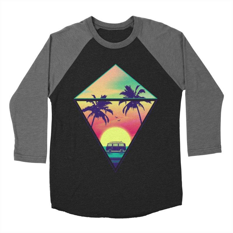 Summer Trip Women's Baseball Triblend Longsleeve T-Shirt by clingcling's Artist Shop