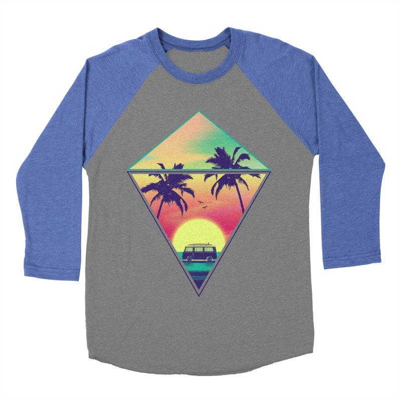 Summer Trip Men's Baseball Triblend Longsleeve T-Shirt by clingcling's Artist Shop
