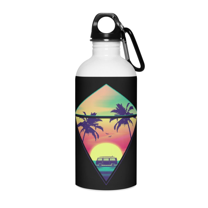 Summer Trip Accessories Water Bottle by clingcling's Artist Shop