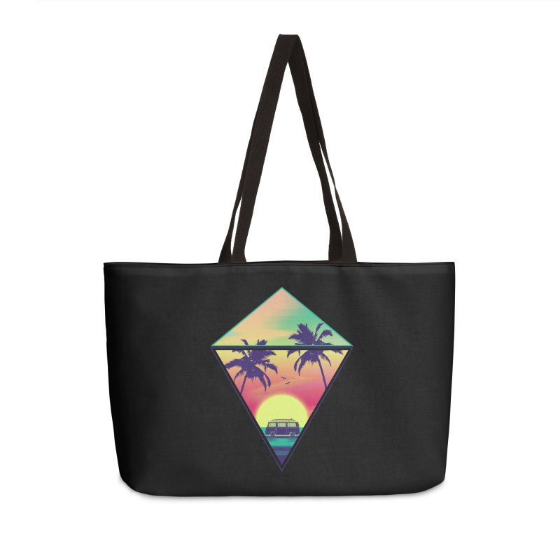 Summer Trip Accessories Weekender Bag Bag by clingcling's Artist Shop