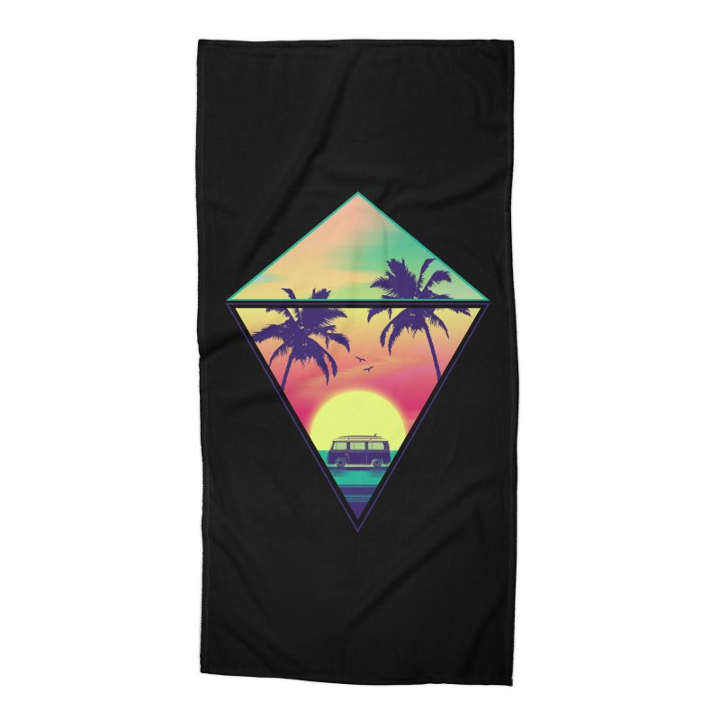 Summer Trip Accessories Beach Towel by clingcling's Artist Shop