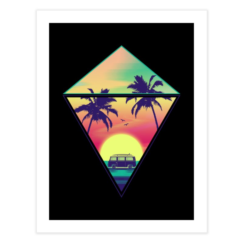 Summer Trip Home Fine Art Print by clingcling's Artist Shop
