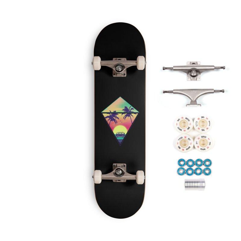 Summer Trip Accessories Complete - Premium Skateboard by clingcling's Artist Shop