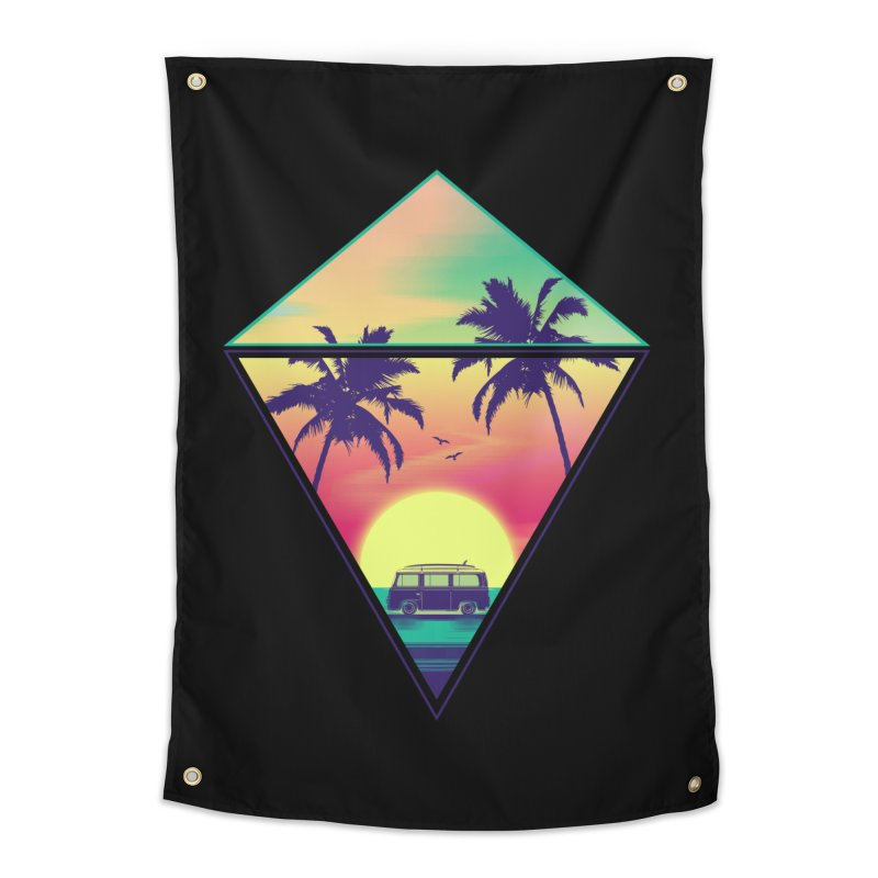 Summer Trip Home Tapestry by clingcling's Artist Shop